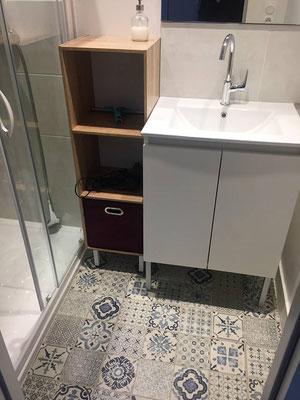 Salle de bain 2, avec toilette séparée