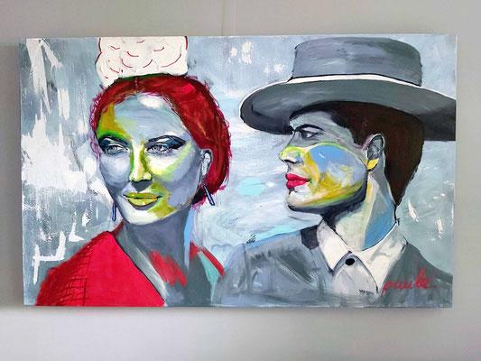 Feria de Sevilla III,  Acryl op 3D Alu Linnen 100 x 160 cm. Prijs op aanvraag.