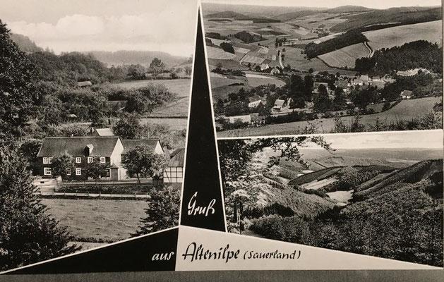 Bild Stefan Hellermann: Postkarte ca 1960