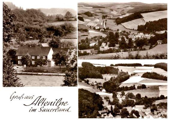 Bild Hermann-Josef Linhoff: Postkarte Gasthof Schürmann links, 1940