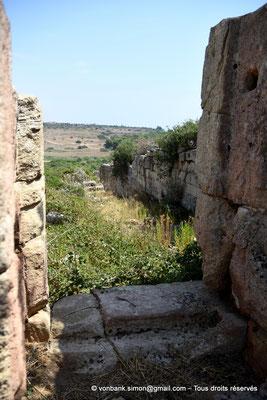 [NU906-2019-1509] Sélinonte : Fortifications extérieures de la Porte Nord (en direction de l'Est)