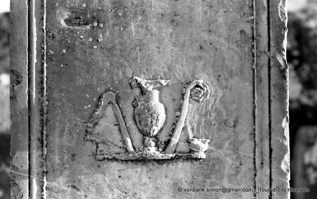 [NB037-1978-25] Djemila (Cuicul) : Forum - Détail d'une base de statue
