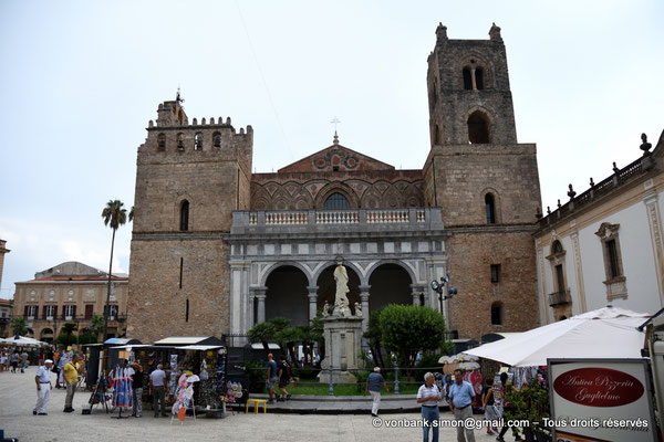 [NU906-2019-1635] Santa Maria Nuova (Monreale) : Façade occidentale