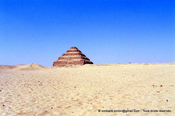 [067-1981-02] Saqqara - Djoser : Pyramide à degrés du roi