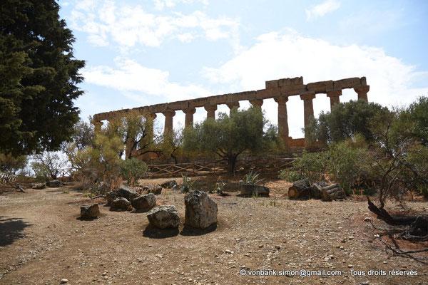 [NU906-2019-1538] Agrigente - Temple d'Héra (Junon) : Face Nord