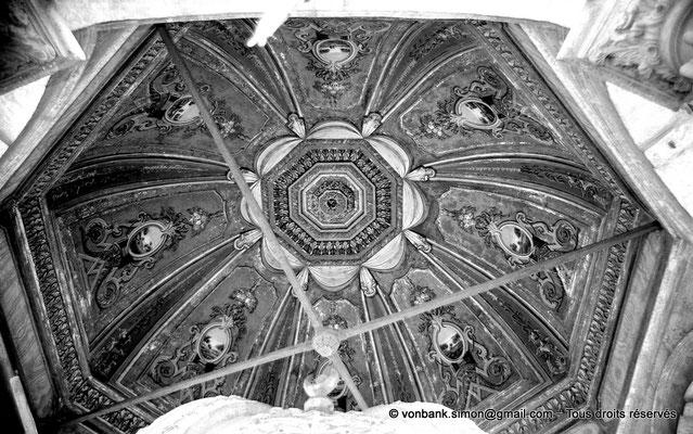 [NB072-1973-12] Le Caire - Mosquée Mohamed Ali Pacha : Petite coupole d'angle de la partie orientale