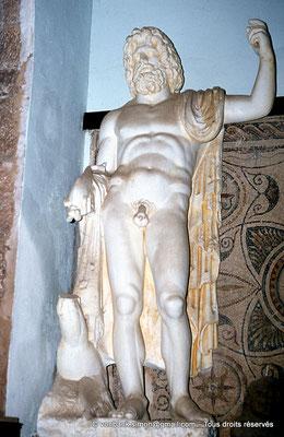 [018-1978-27] Guelma (Calama) : Musée - Neptune (copie de la statue de Khemissa)