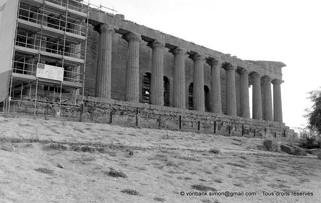[C005-2005-00a] Agrigente - Temple de la Concorde : Face Nord
