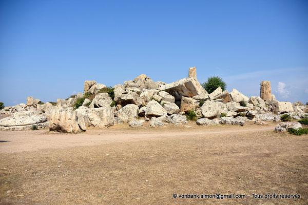 [NU906-2019-1445] Sélinonte - Temple G : Ruines