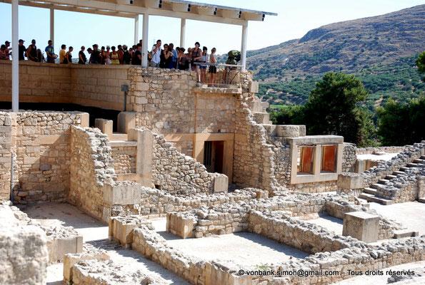 [NU905-2011-177] Cnossos (Crète) : Zone des appartements de la reine