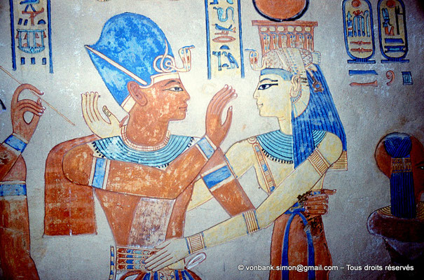[080-1981-41] QV 55 Amonherkhépshef : Ramsès III - Isis
