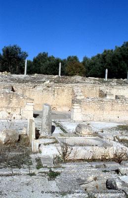[006-1983-37] Henchir Mdeïna (Althiburos) : Maison des Asclepieia