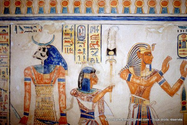 [064-1981-22] QV 55 Amonherkhépshef : Lukenty (?) - Amonherkhépshef - Ramsès III