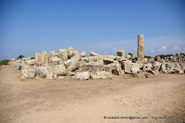 [NU906-2019-1432] Sélinonte - Temple F : Ruines