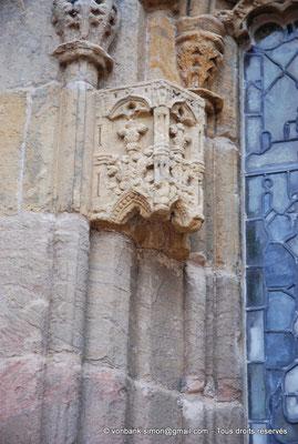 [NU900y-2014-0442] Ecosse - Chapelle Rosslyn : Détail de la façade