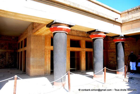 [NU905-2011-182] Cnossos (Crète) : Sanctuaire des doubles haches