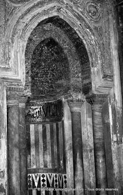 [NB073-1973-51] Le Caire - Mosquée Ibn Toulon : Mihrab