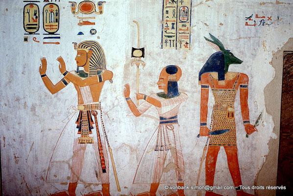 [066-1981-09] QV 44 Khaemouaset : Ramsès III - Khaemouaset - Qutgetef