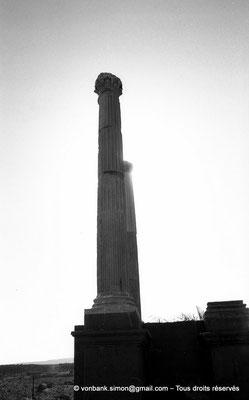 [NB038-1978-05] Timgad (Thamugadi) : Porte de Mascula (extrémité Est du Decumanus maximus)