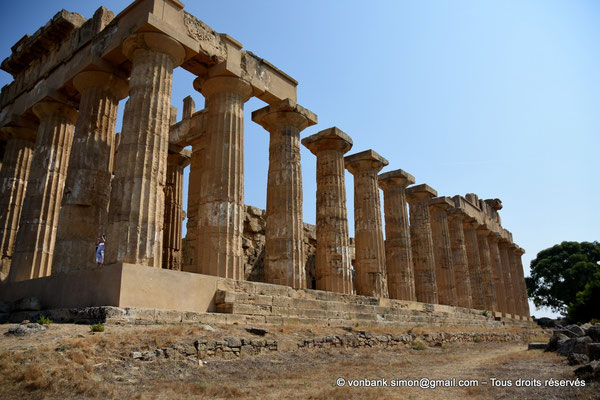 [NU906-2019-1459] Sélinonte - Temple E : Faces Ouest et Sud