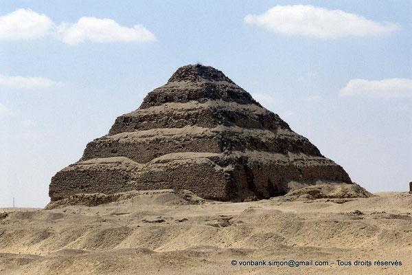 [067-1981-05] Saqqara - Djoser : Pyramide à degrés du roi