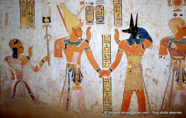 [064-1981-38] QV 44 Khaemouaset : Khaemouaset - Ramsès III - Douamoutef - Ramsès III