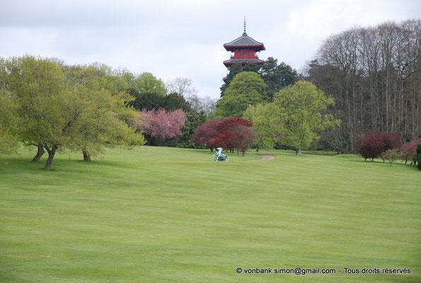[NU900c-2012-0092] B - Bruxelles - Laeken : le Parc - Tour japonaise
