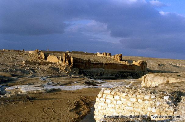 [008-1983-04] Haïdra (Ammaedara) : Citadelle byzantine - Vu depuis le petit arc