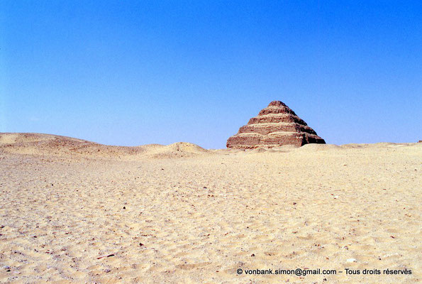 [067-1981-01] Saqqara - Djoser : Pyramide à degrés du roi