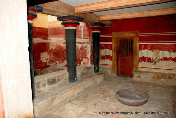 [NU905-2011-165] Cnossos (Crète) : Salle du trône