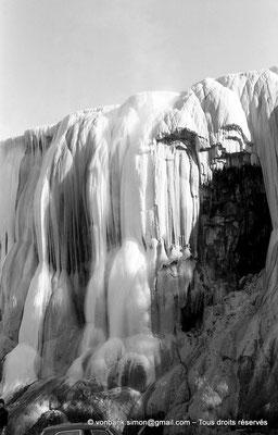 [NB025-1978-53] Hammam Meskoutine (Aquae Thibilitanae) : Cascade pétrifiée