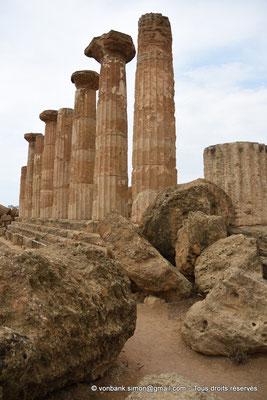 [NU906-2019-1577] Agrigente - Temple d'Héraclès (Hercule) : Face Sud