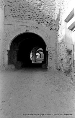 [NB050-1978-17] Temacine-Tamelhat - Rue avec passages couverts