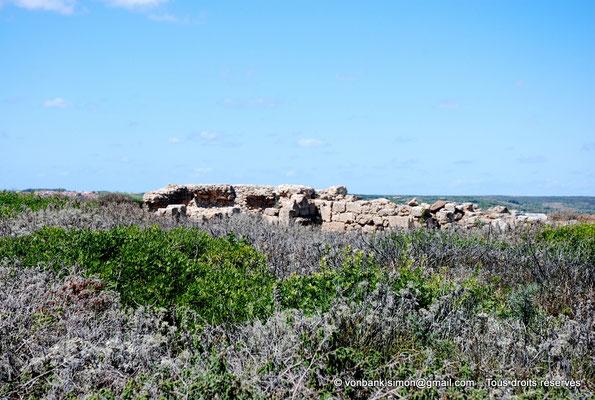 [NU904-2015-210] Tharros (Sardaigne) : Ruines du temple de Déméter