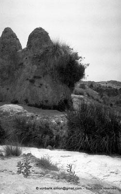 [NB017-1981-12] Hammam Meskoutine (Aquae Thibilitanae) : Cônes de pierre (noce pétrifiée)