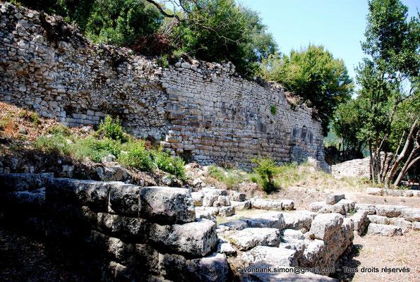 [NU902-2010-139] Butrint (Buthrotum) : Mur d'enceinte