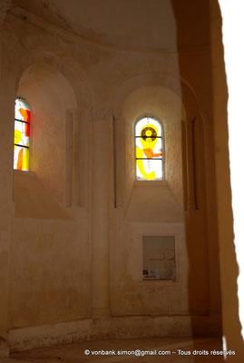[NU904-2015-0014] 17 - Trizay - Prieuré Saint-Jean l'Évangéliste : Chapelle axiale (partie Nord)