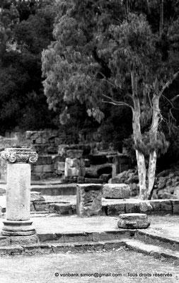 [NB036-1978-63] Tipasa de Maurétanie : Cour du temple anonyme (détail)
