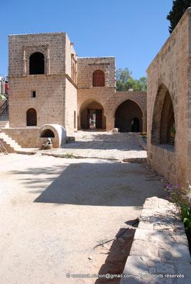 [NU900-2012-0154] Agia Napa : A l'extrémité Sud de la cour intérieure, fontaine en forme de tête de verrat