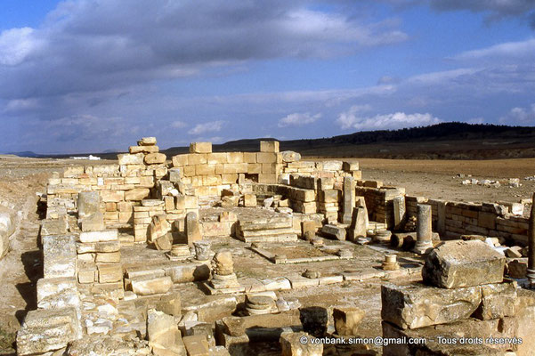 [007-1983-23] Haïdra (Ammaedara) : Basilique de Candidus (Basilique II)