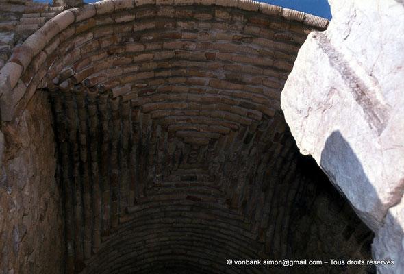 [079-1979-21] Bulla Regia : Voûte de la douche privée de la maison de la nouvelle chasse (sous-sol)