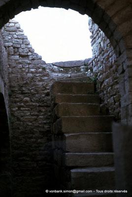 [017-1978-22] El Krib (Musti) : Accès au sous-sol d'une habitation