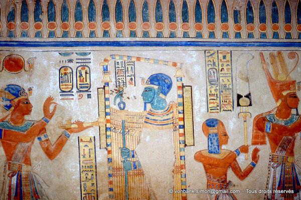 [064-1981-13] QV 55 Amonherkhépshef : Ramsès III - Ptah - Amonherkhépshef - Ramsès III