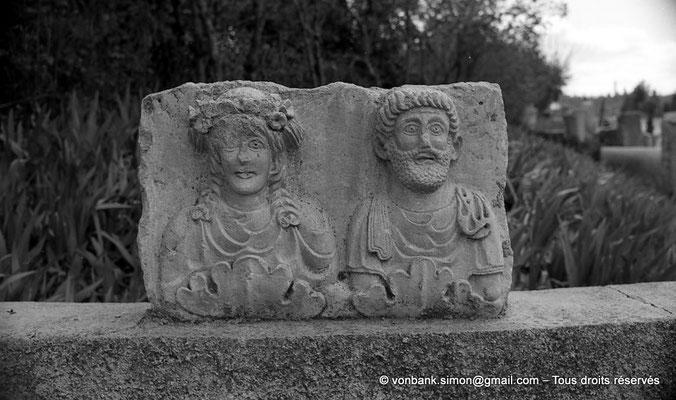 [NB038-1978-32] Timgad (Thamugadi) : Musée - Stèle
