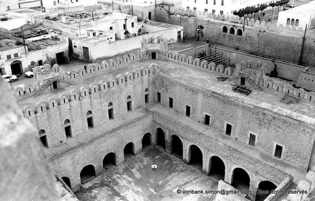 [NB015-1981-06] Sousse (Hadrumetum) : Cour intérieure du Ribat