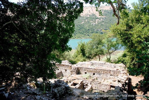 [NU902-2010-144] Butrint (Buthrotum) : Vue depuis le château vénitien