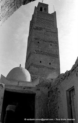 [NB050-1978-21] Temacine-Tamelhat - Minaret de la mosquée de Si El Hadj Temacine