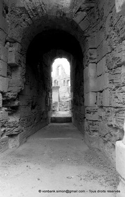 [NB011-1981-33] El Djem (Thysdrus) : Amphithéâtre