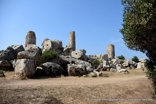 [NU906-2019-1450] Sélinonte - Temple G : Ruines