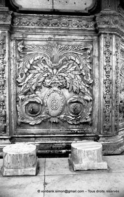 [NB072-1973-06] Le Caire - Mosquée Mohamed Ali Pacha : Fontaine à ablutions (détail)
